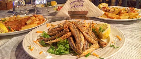 pelion gastronomy tavern fish